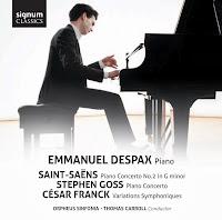 Emmanuel Despax - Saint-Saens, Goss and Franck: SIGCD349