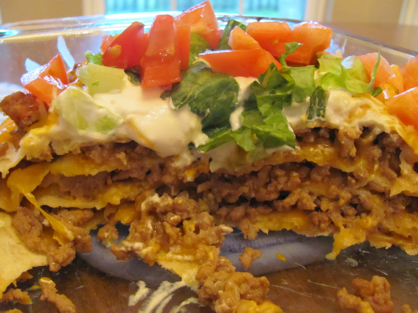 The Cooking Mommy: Taco Lasagna (Easy Style)