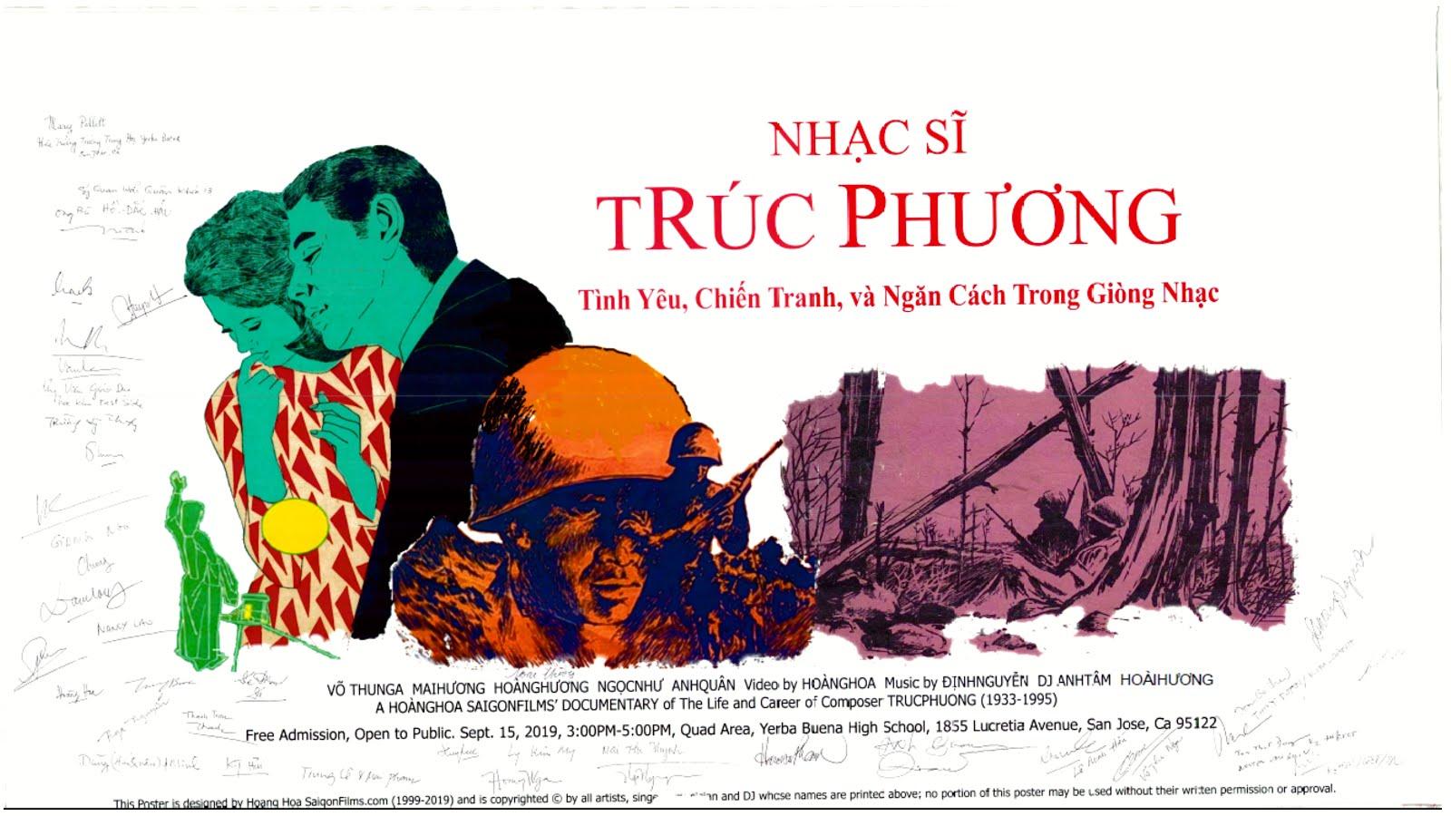Nghi Lễ Chào Cờ và Tưởng Niệm Cố Nhạc Sĩ Trúc Phương (1933-1995)