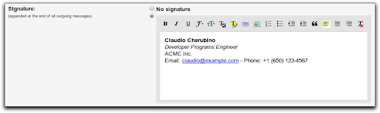 G Suite Developers Blog: Rich signatures for your domain using the ...
