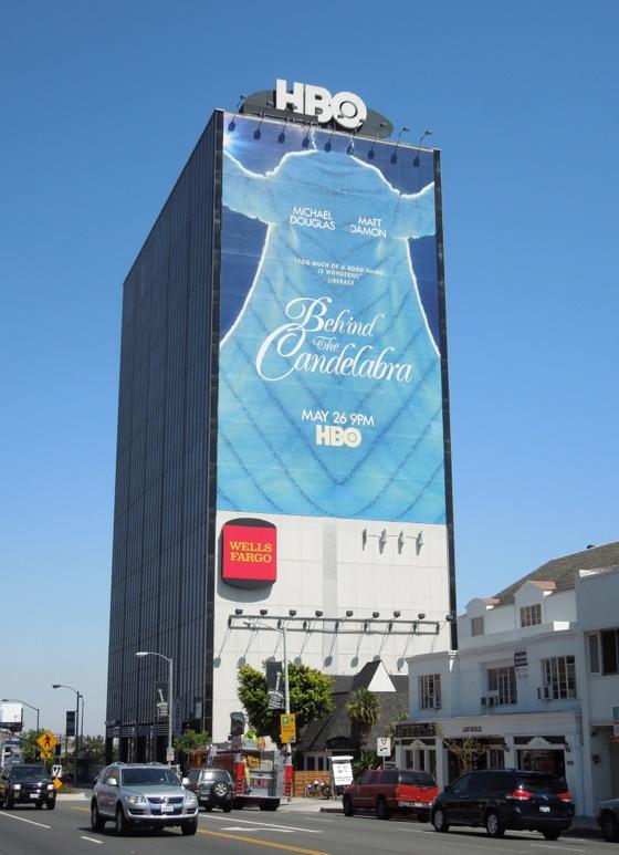 Behind the Candelabra HBO billboard
