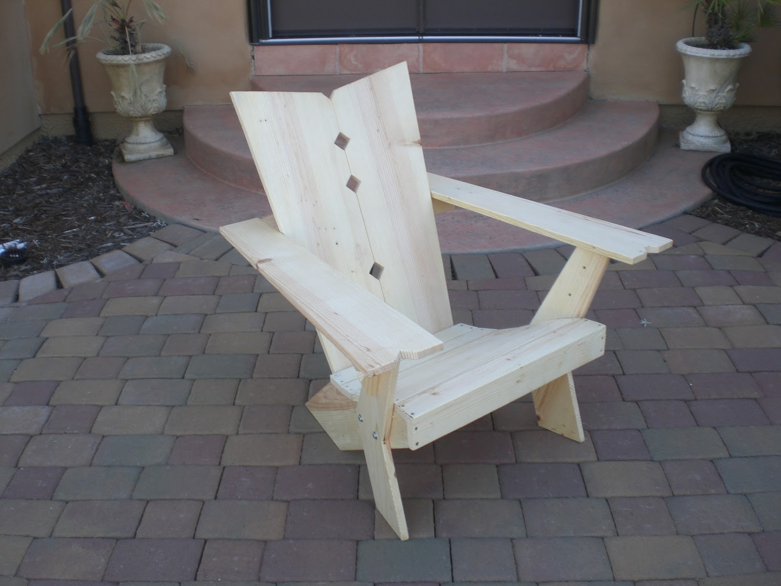 NEW U201cWestport Adirondack Chair   Revised Woodworking Plansu201d