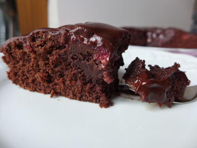 gateau au chocolat framboises pierre herme – secrets culinaires