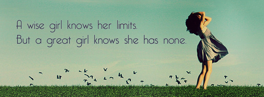 A Wise Girl Knows Her Limits