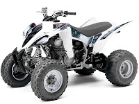 Yamaha pictures 2013 Raptor 350 ATV 1