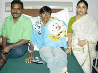 Dhanush childhood family