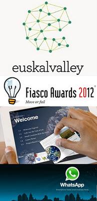 Euskal Valley, Fiasco Awards, rumores iPad 3 y secretos del Whatsapp