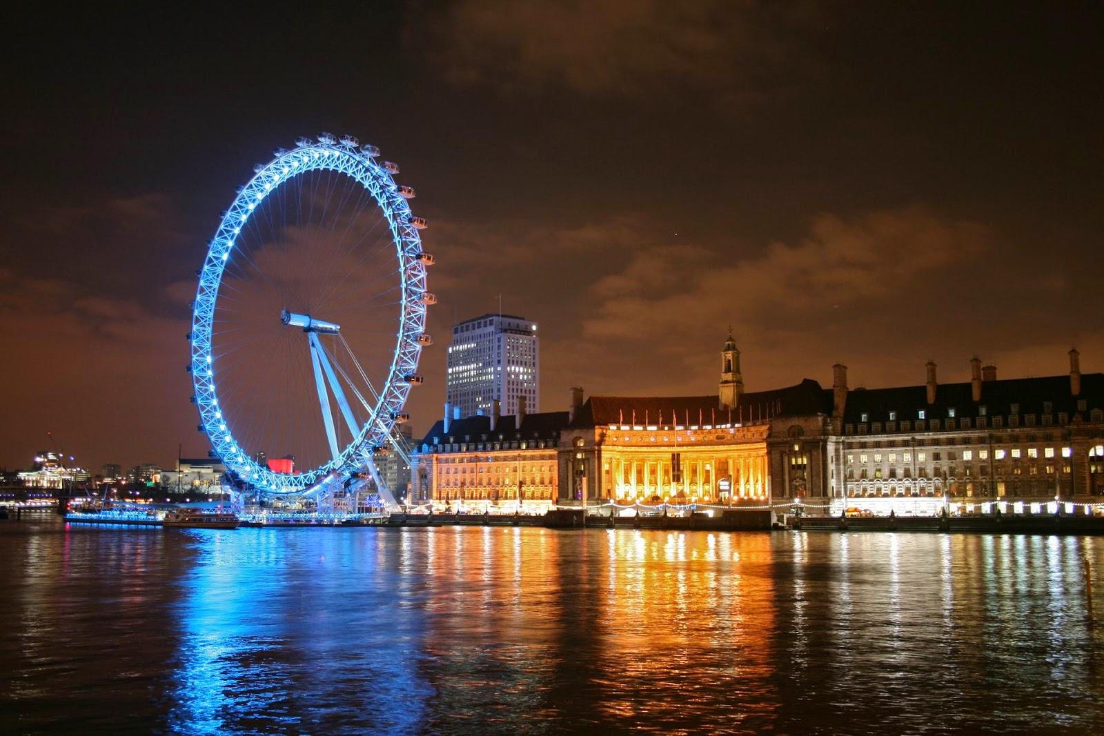 London, Eye, London Eye, England, Inggris, Kincir