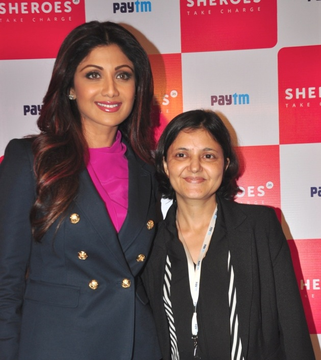 Mumbais working women give the thumbs up to digital india at shilpa shetty kundra chairperson best deal tv sairee chahal founder and ceo sheroes fandeluxe Gallery