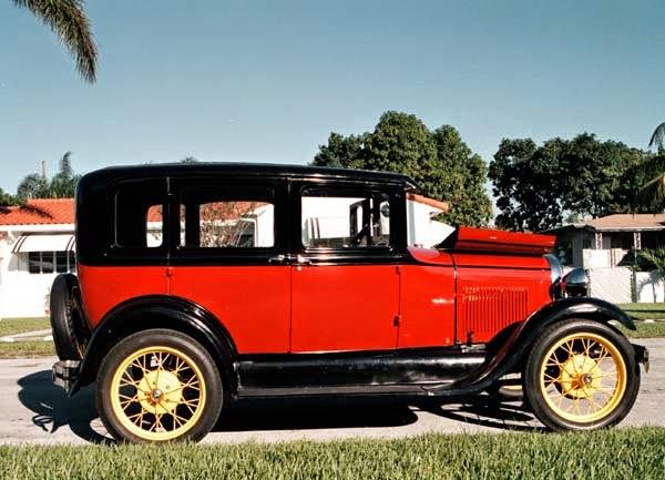 """fotingo"""" (cubanizando la frase """"foot it and go"""") para designar al modelo """"T"""" de la Ford. Tambien le llamaban """"tres patas"""" (embrague, freno y acelerador)."""