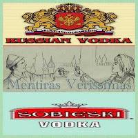 A Vodka é uma mistura de álcool etílico e água, numa proporção de 40 para 60. Pode ser mais forte, mas nunca mais fraca.