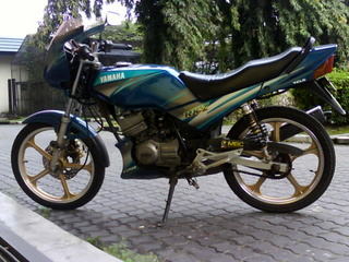 Yamaha Rxz Catalyzer Modified