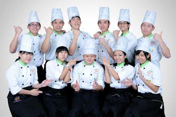 第六届-1年烘焙专业技术班学生合照