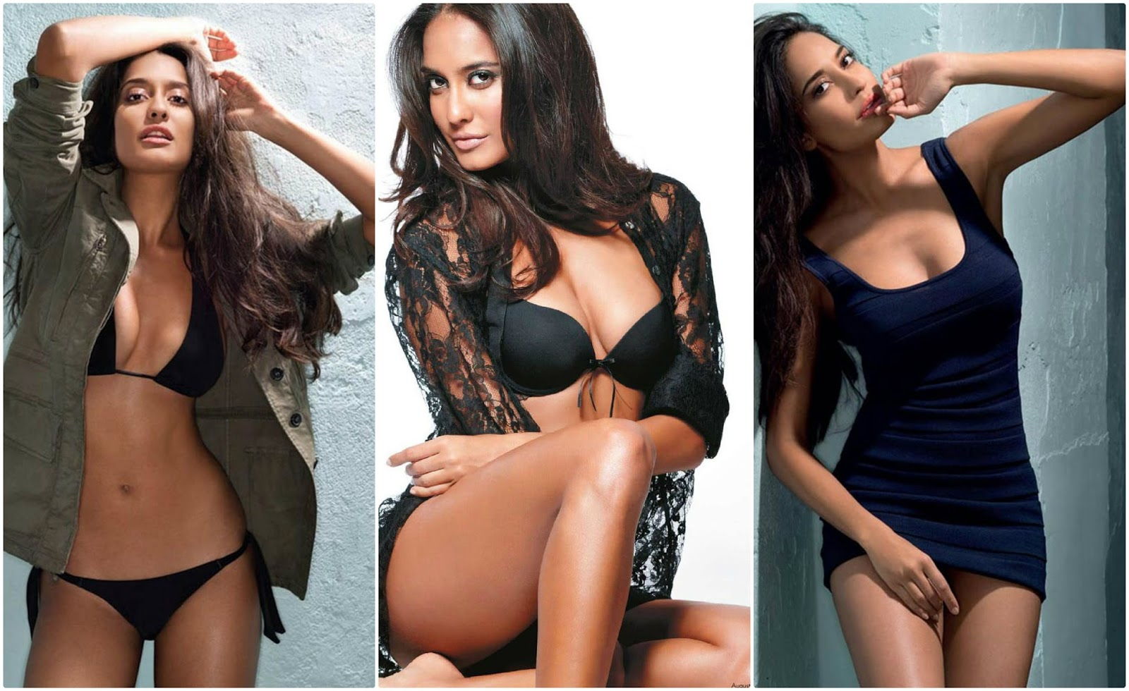 Collage Sona Lisa Haydon Bra and Panty Stlls