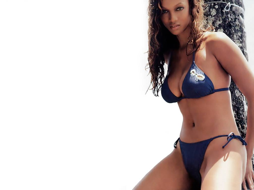 Tyra Banks Hairstyle Trends Tyra Banks Bikini Wallpapers