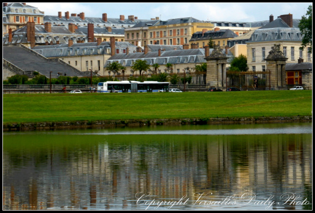 Versailles reflected château palace