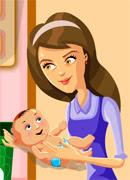 Лучшая мама - Онлайн игра для девочек