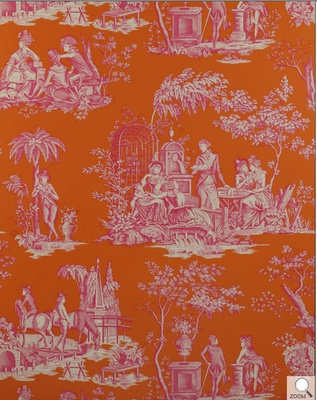 Summer In Newport Toile De Jouy