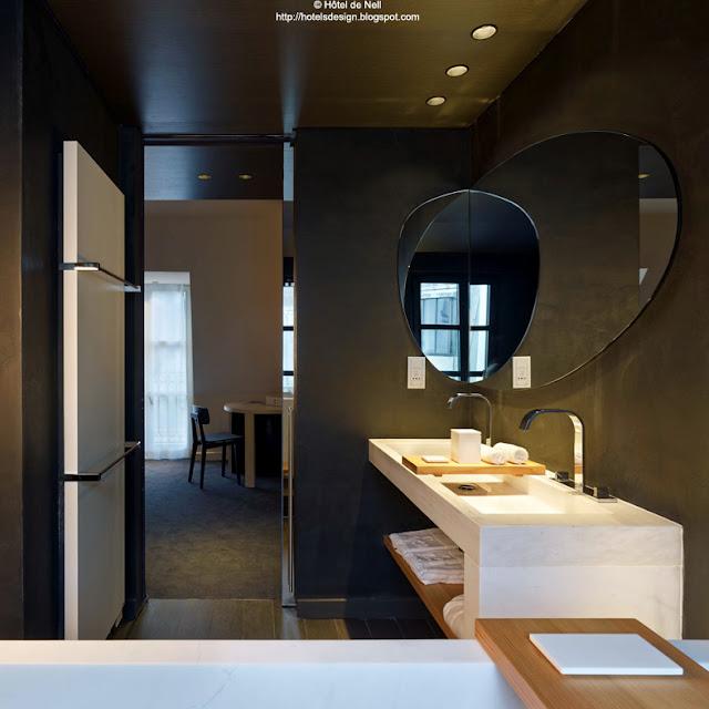 les plus beaux hotels design du monde h tel de nell by jean michel wilmotte paris france. Black Bedroom Furniture Sets. Home Design Ideas