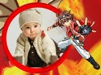 Moldura online Bakugan Guerreiros da Batalha