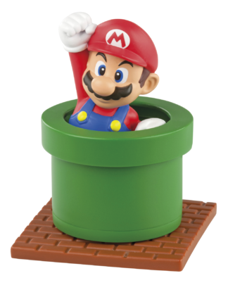 McDonald's Happy Meals Mario toys, Happy Meals Mario toys. Mario, Luigi, Toad, Yoshi, Donkey Kong, Super Mushroom power-up