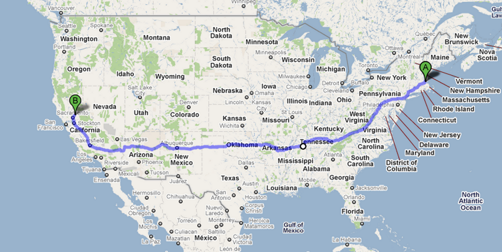 Harley Ride Across America Preparing For The Cross Country Trip - Map of the us highway 40