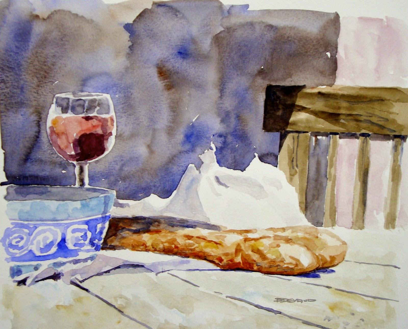 Atelier la sauvagine studio du pain frais french bread for Congeler du pain frais