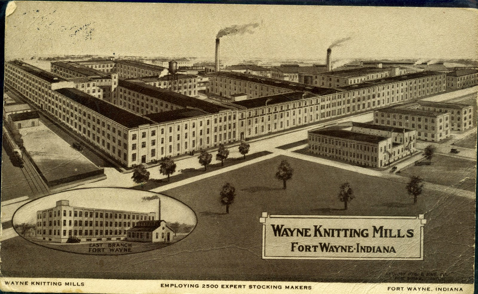 Knitting Mills : History center notes queries noble olds and theodore
