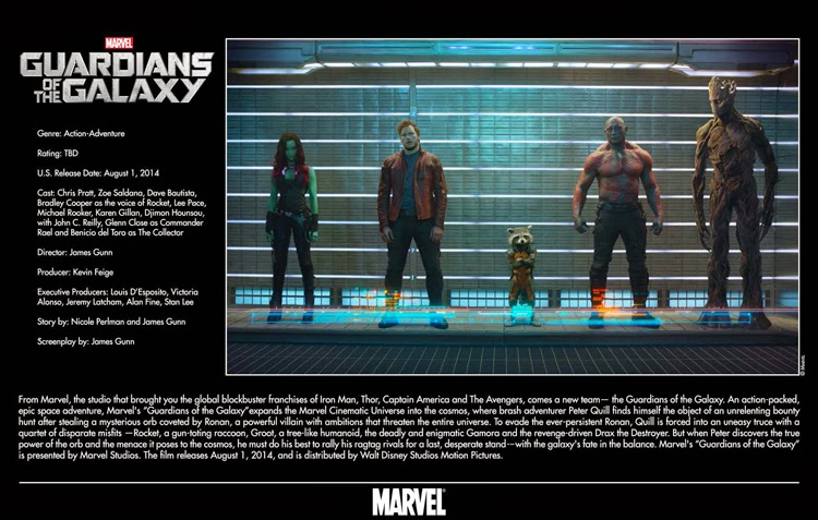 August 1, 2014 – Guardians of the Galaxy |Focused on the Magic