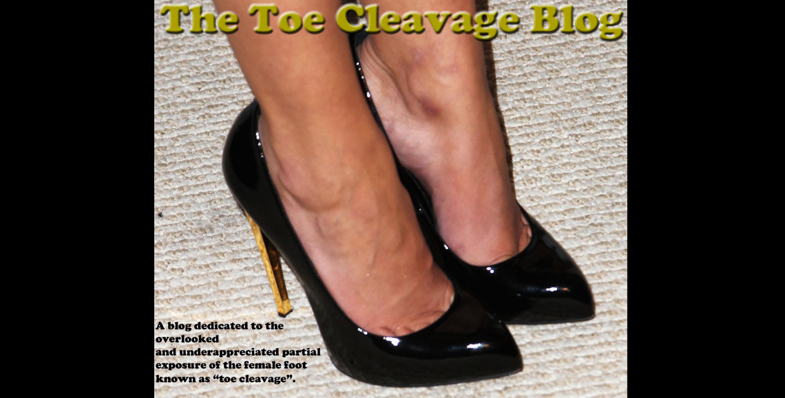 The Toe Cleavage Blog