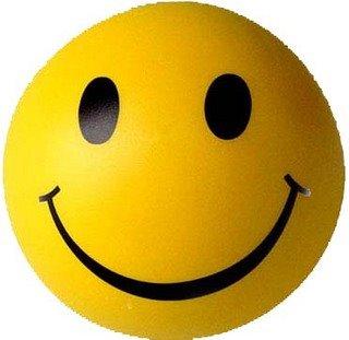 Dibujo de una sonrisa en una pelota