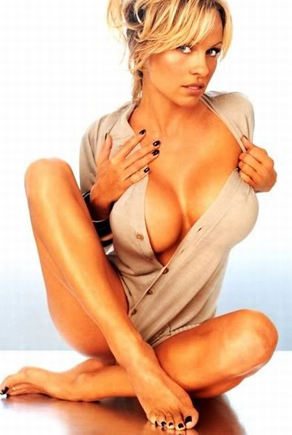 Celebrity secret pamela anderson breast implants for Todays best photos