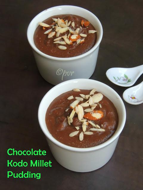 Chocolate Varagu arisi payasam