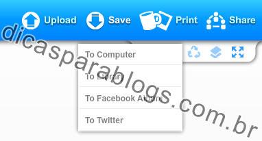 salvar imagens e fotos online