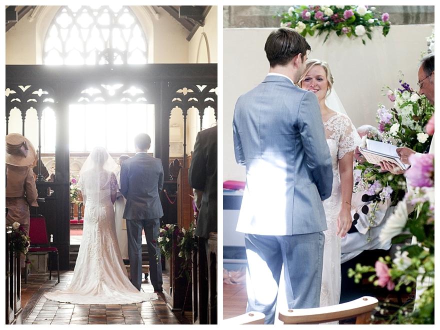 Real English Garden Wedding: Krysten & Matt