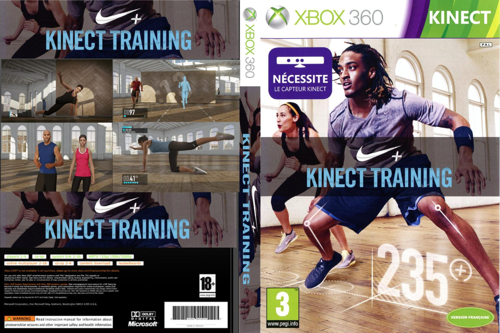 nike training xbox avis