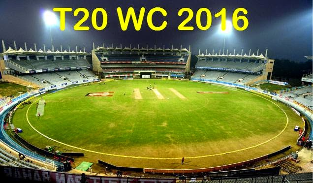 ICC Cricket T20 World Cup 2016 Pools, Groups, Teams.
