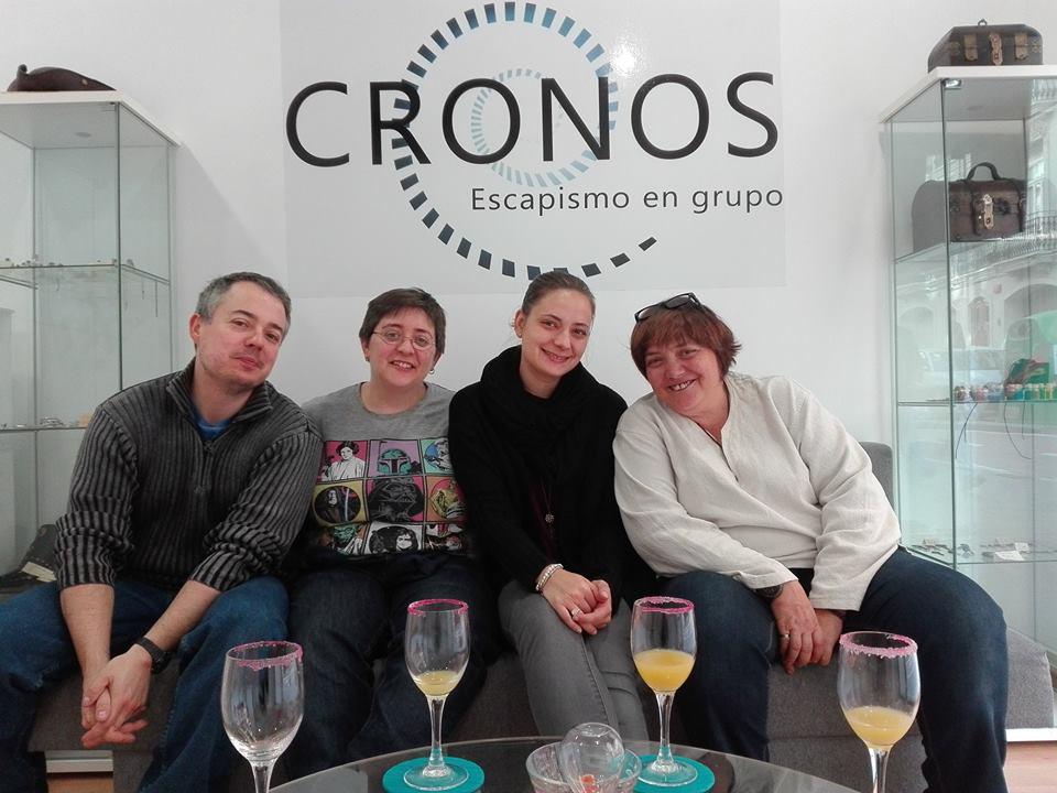 Cronos Escape Rooms Valencia