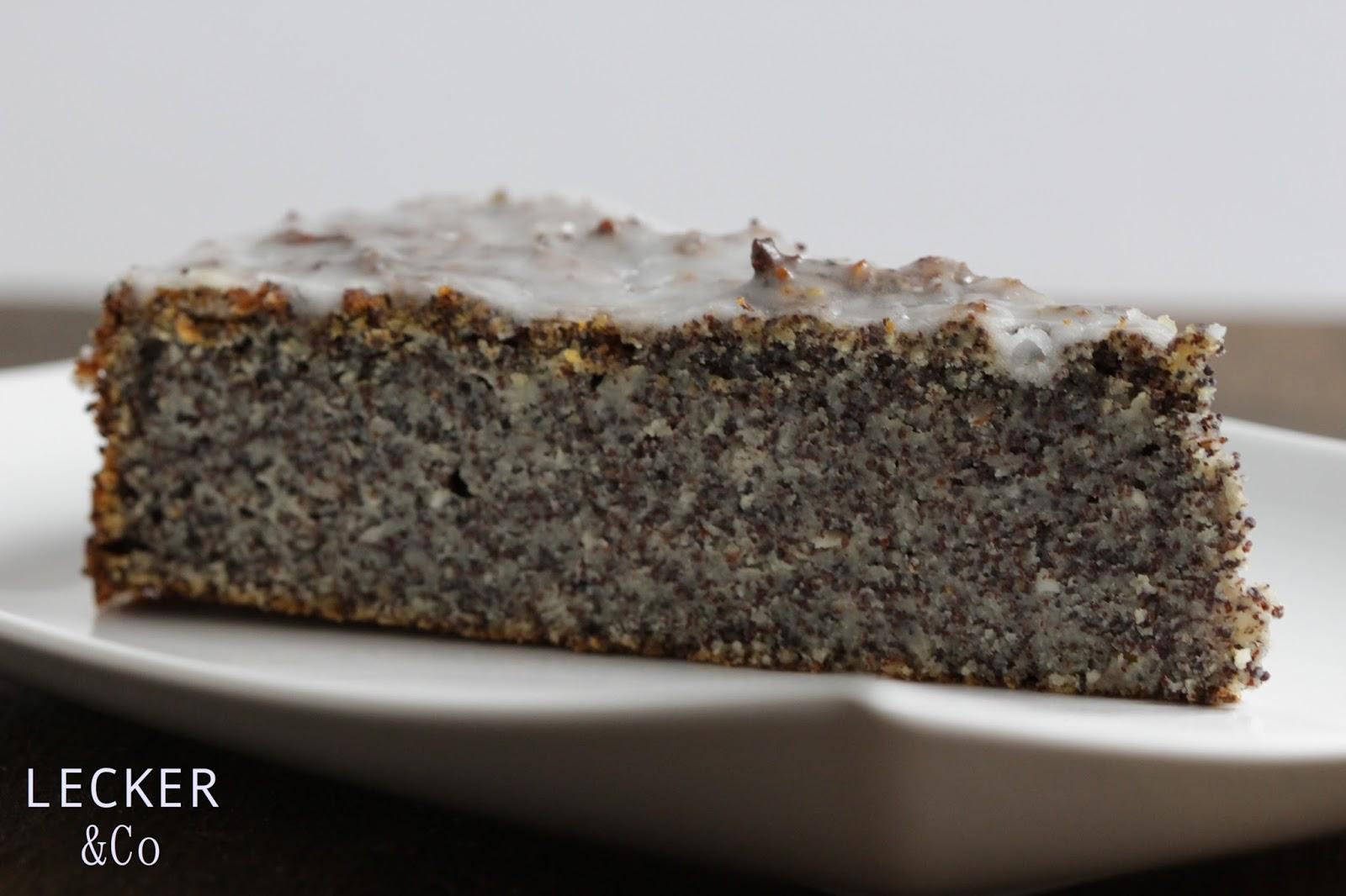 LECKER&Co  Foodblog aus Nürnberg Mohnkuchen  so saftig