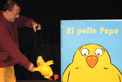 """El Pollo Pepe"" en el Teatro Tarambana"