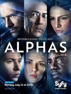 Alphas TV Show Poster Download Alphas   1ª e 2ª Temporada RMVB Legendado