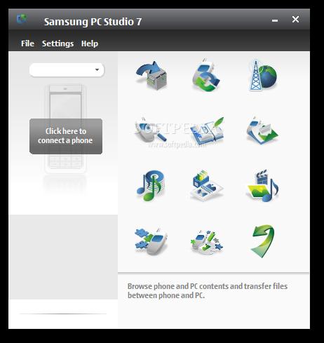 تنزيل برنامج ربط هاتف سامسونج مع الكمبيوتر Samsung PC Studio 7.2.24.9