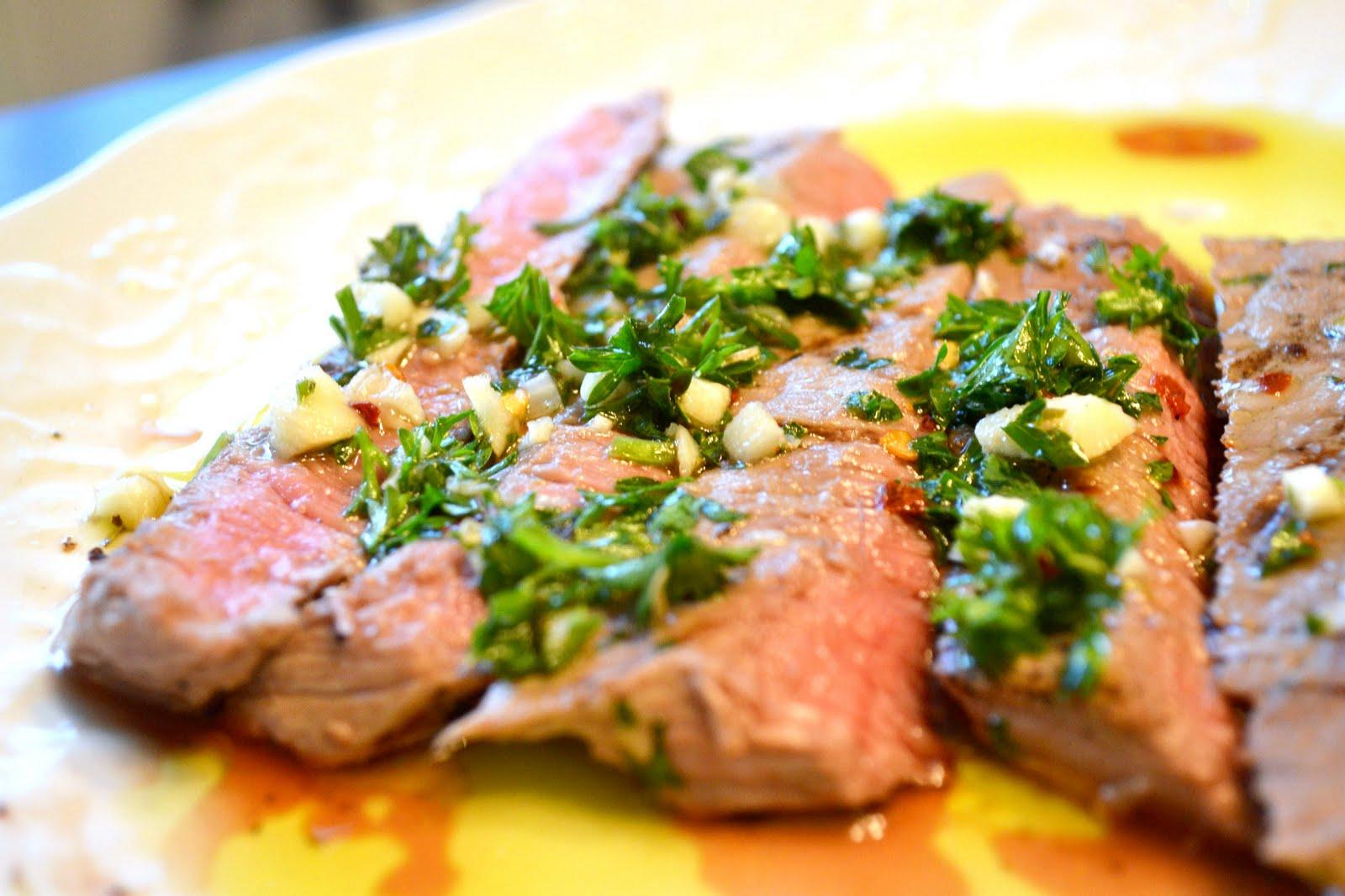 Just Putzing Around the Kitchen: Skirt Steak with ...