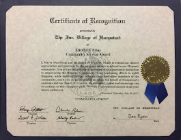 Certificate of Recognition 7-20-2017