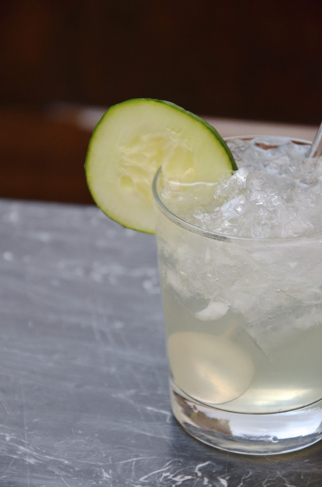 cucumber gin cocktail | recipe