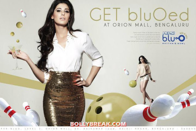 Nargis Fakhri on Print Ad of  Blu O Bengaluru - (5) - Nargis Fakhri Blu O Bengaluru Wallpapers