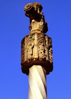 Actual cruz de término de Binéfar