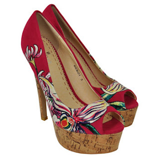 Bebo shoes UK red shoes