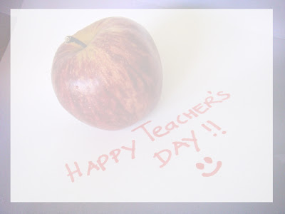 Teachers' Day PowerPoint Background 1