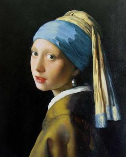 tela de Johannes Vermeer